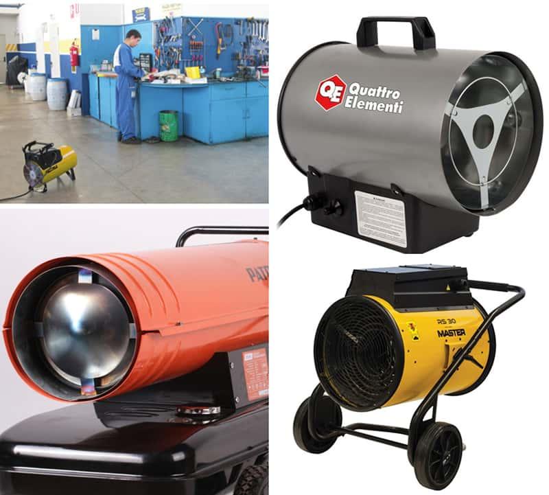 Газовая тепловая пушка для монтажа натяжных потолков или электрическая - какая лучше?