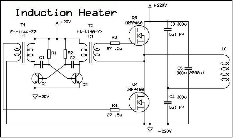 Как сделать индукционный нагреватель своими руками