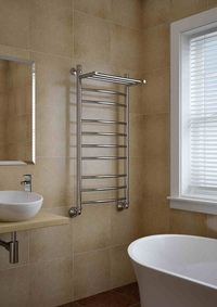 Как перенести полотенцесушитель в ванной комнате?