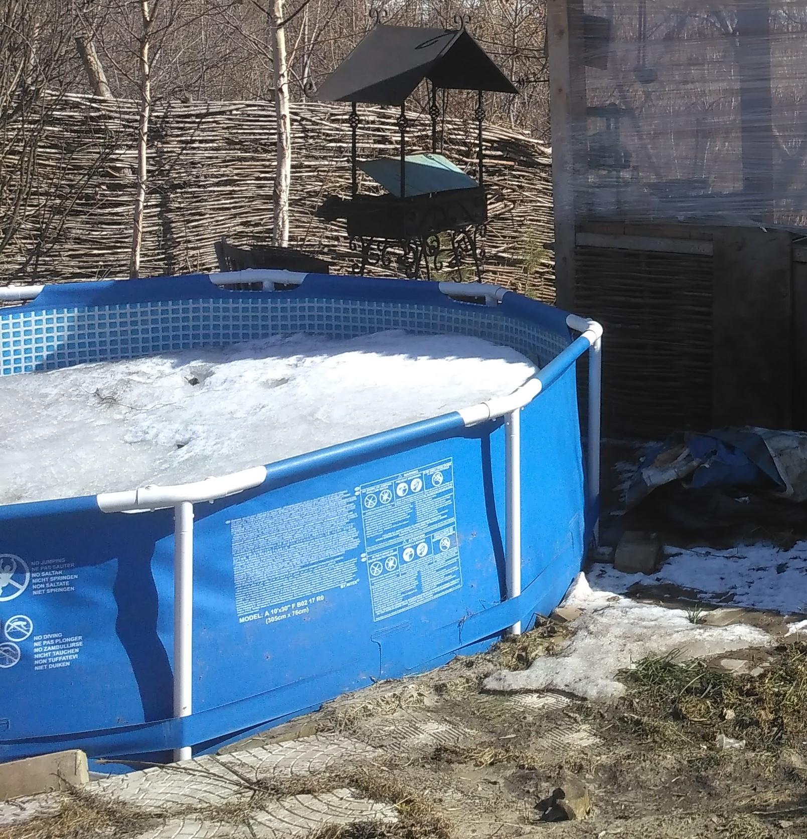 Как сложить каркасный бассейн на зиму? нужно ли убирать бассейн? как правильно разобрать и складывать круглый бассейн?