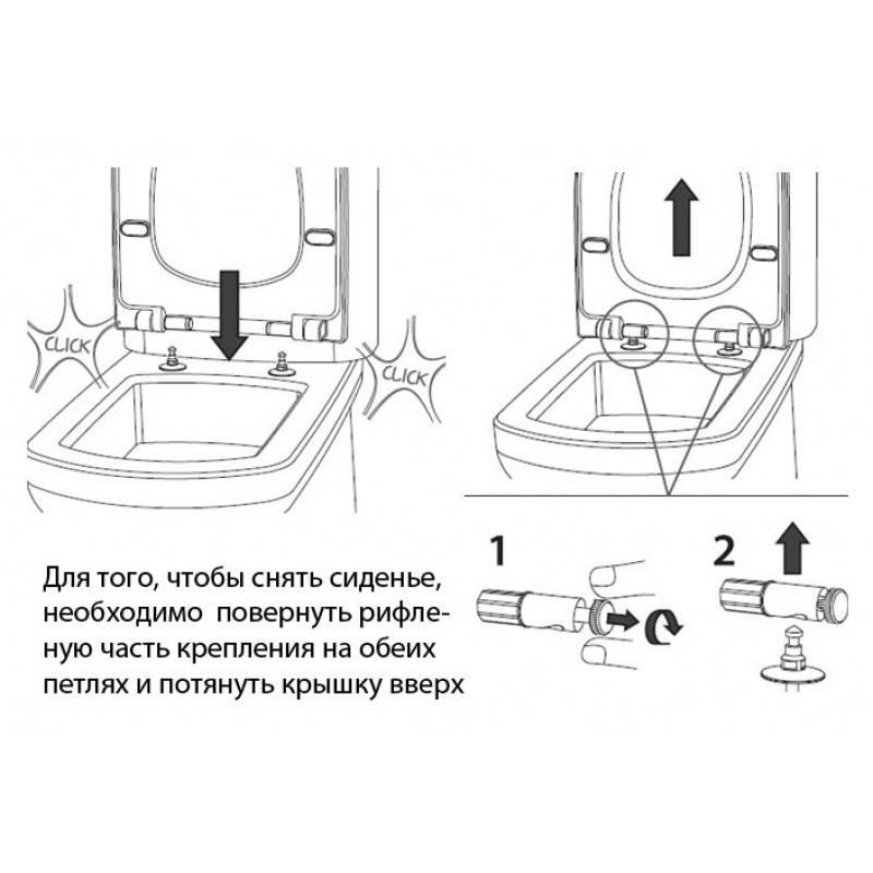 Не работает микролифт крышки унитаза: способы как починить своими руками