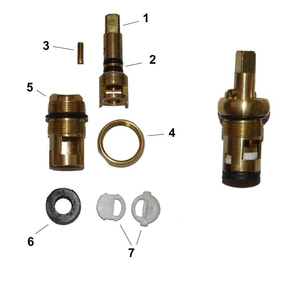 Ремонт и замена кран буксы керамической для смесителя | инженер подскажет как сделать