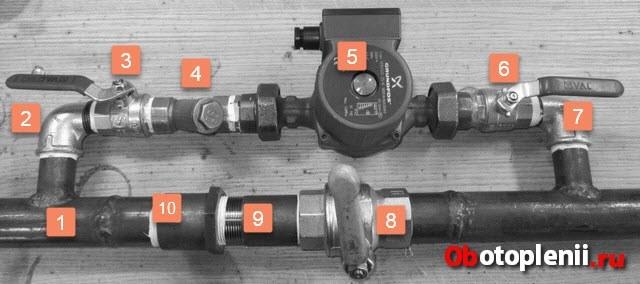 Установка циркуляционного насоса в системе отопления: как правильно сделать монтаж, подключение и устройство насоса на примерах фото и видео