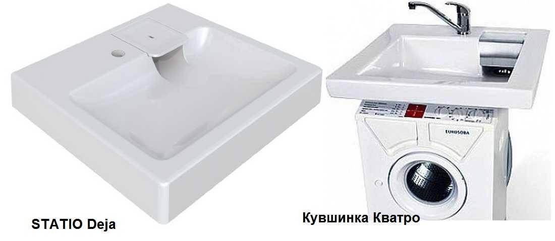 Раковина на стиральную машину: правила выбора и установки