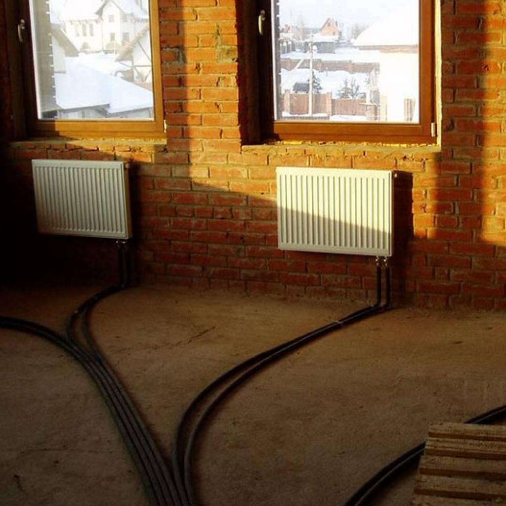 Отопление дома без газа и электричества. возможные варианты