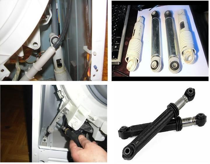 Ремонт амортизатора стиральной машины: диагностика неисправностей и замена своими руками