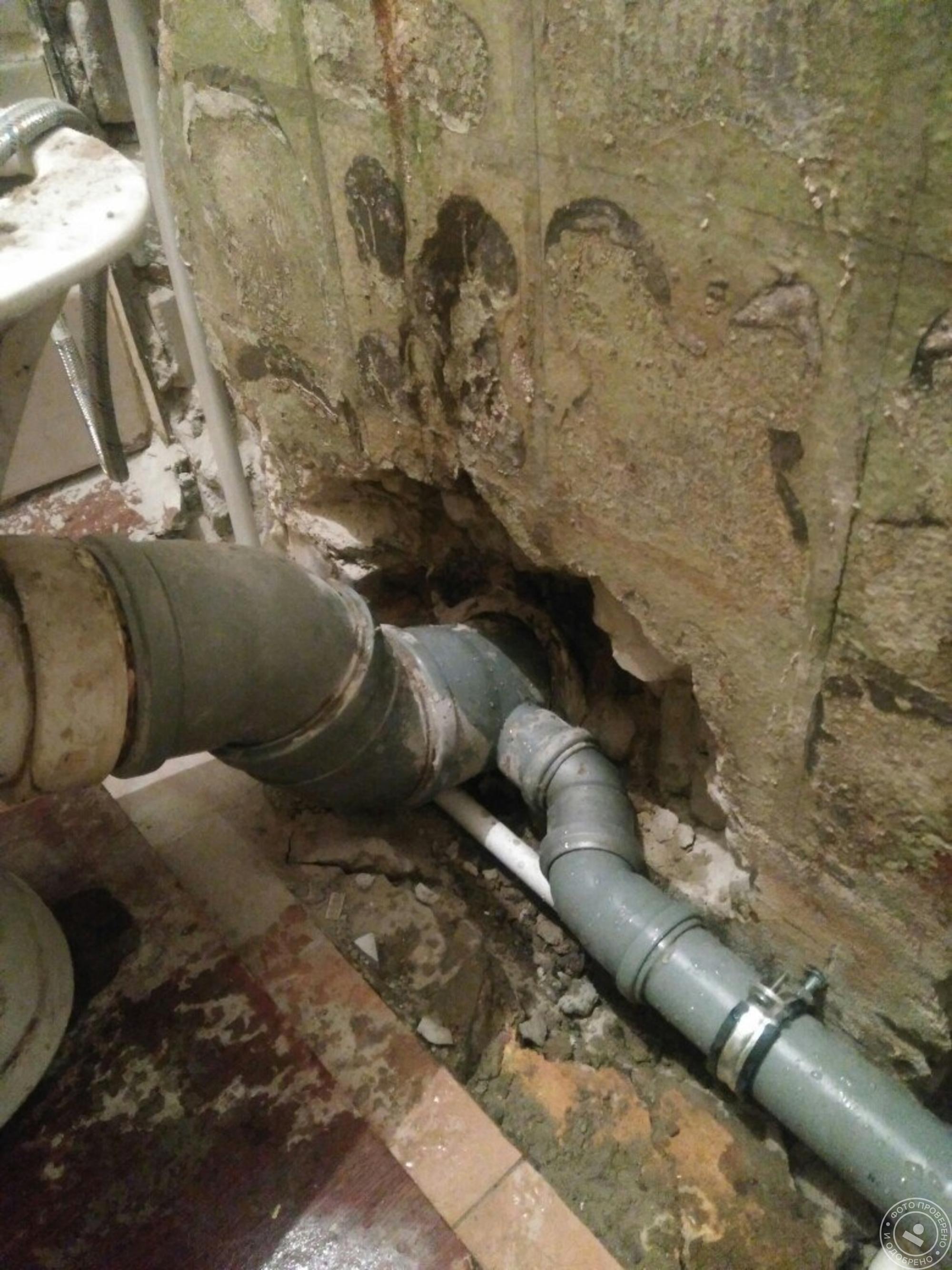 Замена чугунных канализационных труб на пластиковые - только ремонт своими руками в квартире: фото, видео, инструкции