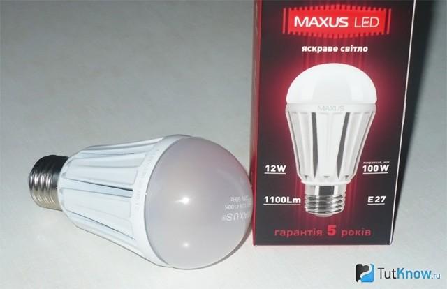Светодиодная лампа feron - отзывы на i-otzovik.ru