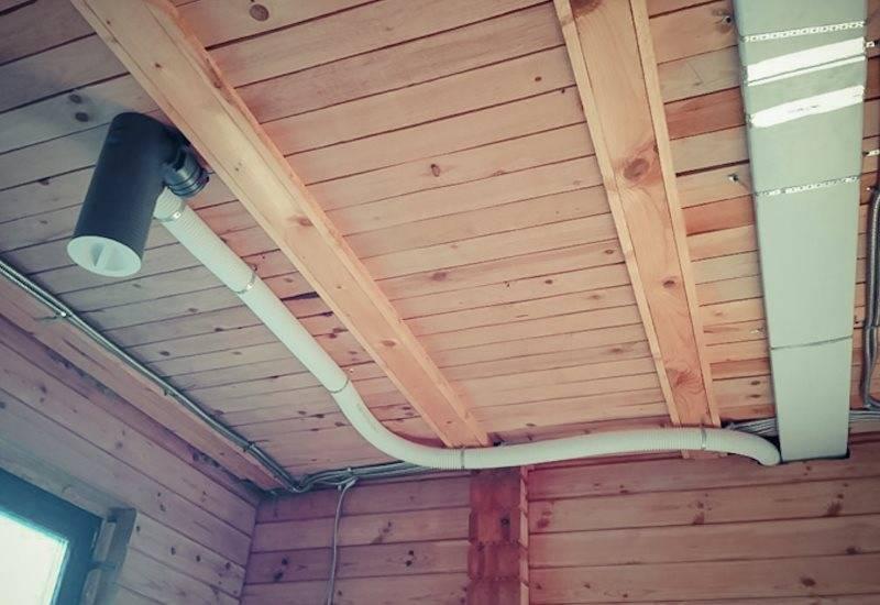 Вентиляция в деревянном доме - монтаж и особенности