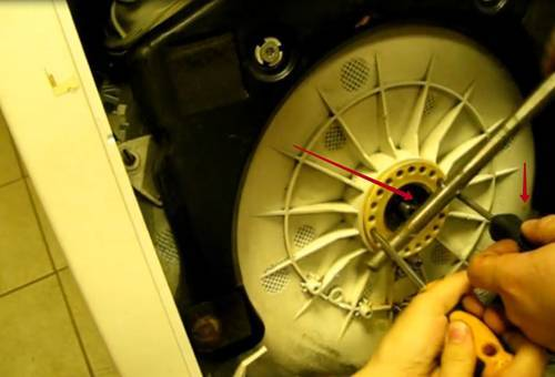 Замена подшипников в стиральной машине с вертикальной загрузкой