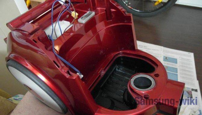 Пылесос самсунг: ремонт прибора своими руками