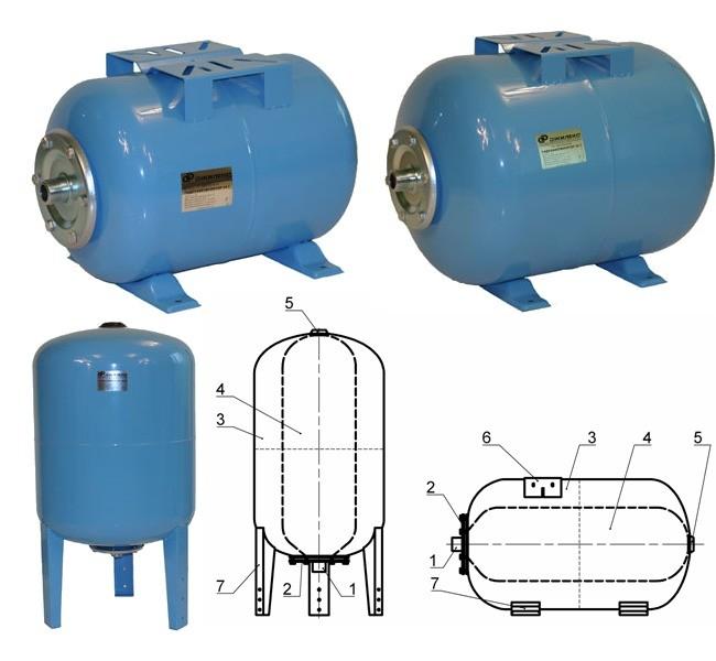 Как настроить гидроаккумулятор и реле давления