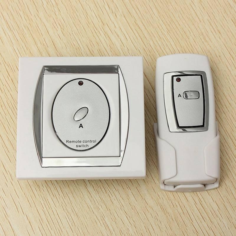 О дистанционных выключателях света с пультом: подключение выключателя своими руками