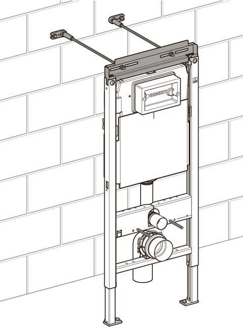 Как установить или инсталлировать подвесной унитаз