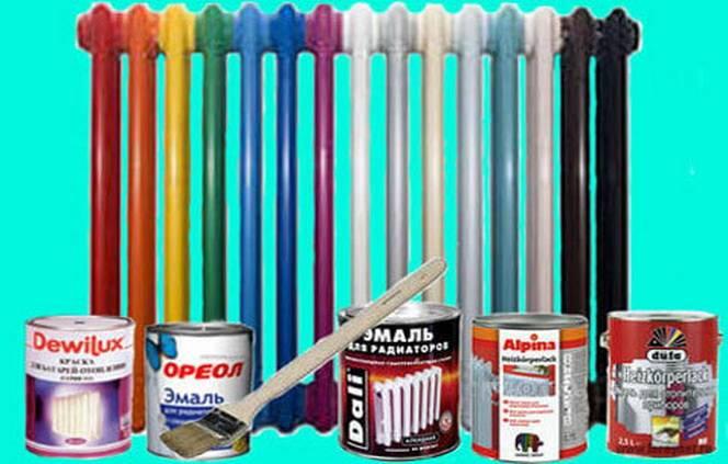 Можно ли красить горячие батареи и какую краску выбрать