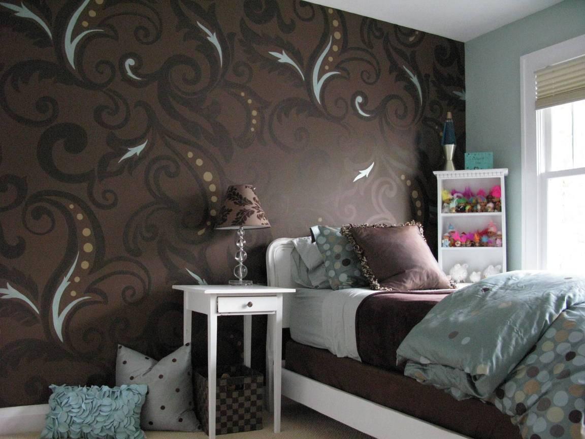 Обои в спальню: 50 фото интерьеров, современные идеи | salon