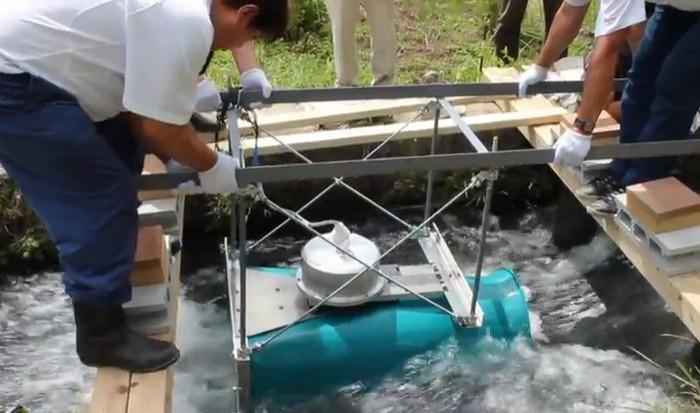 Мини-гидроэлектростанция для частного дома своими руками
