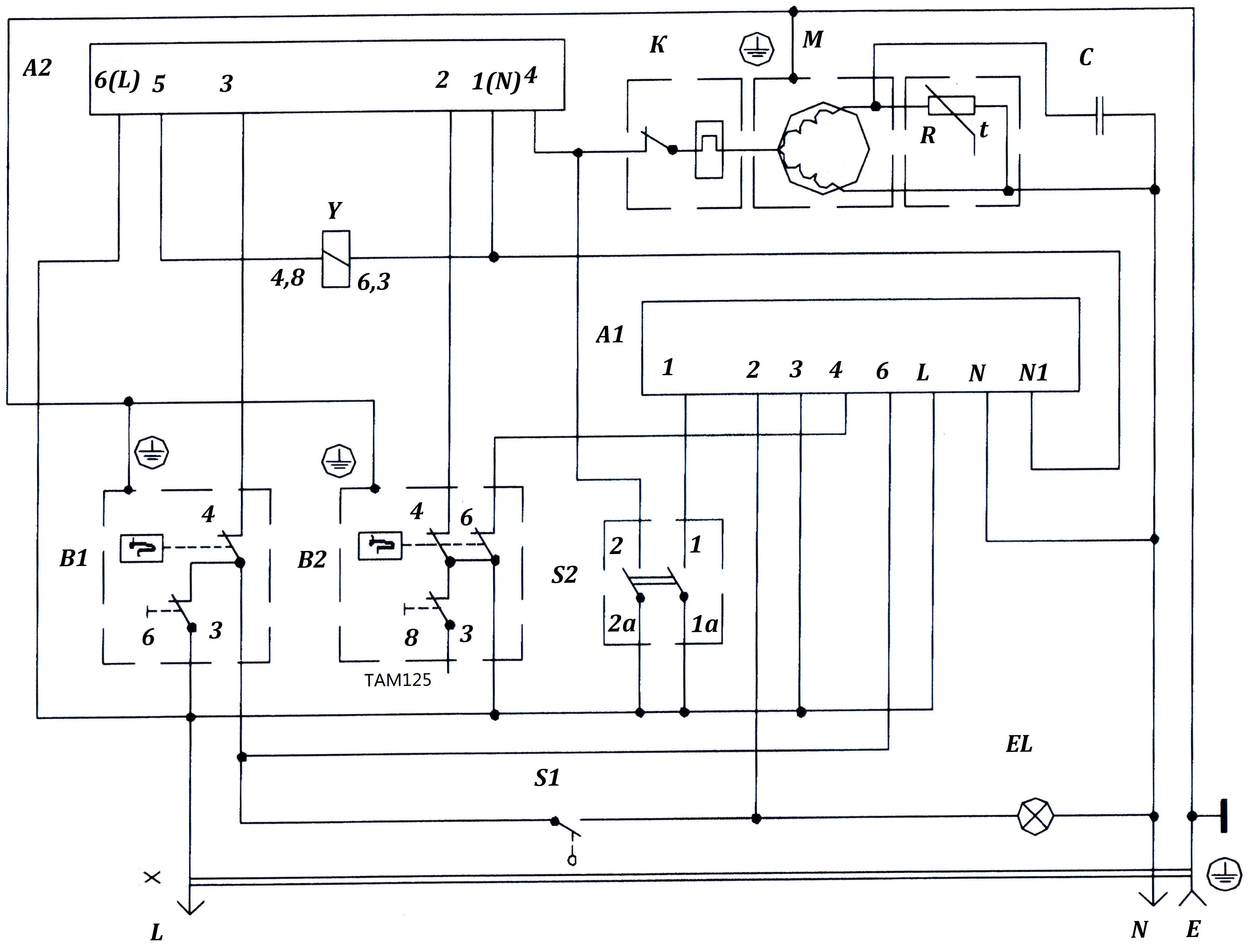 Схема работы холодильника: электронные устройства