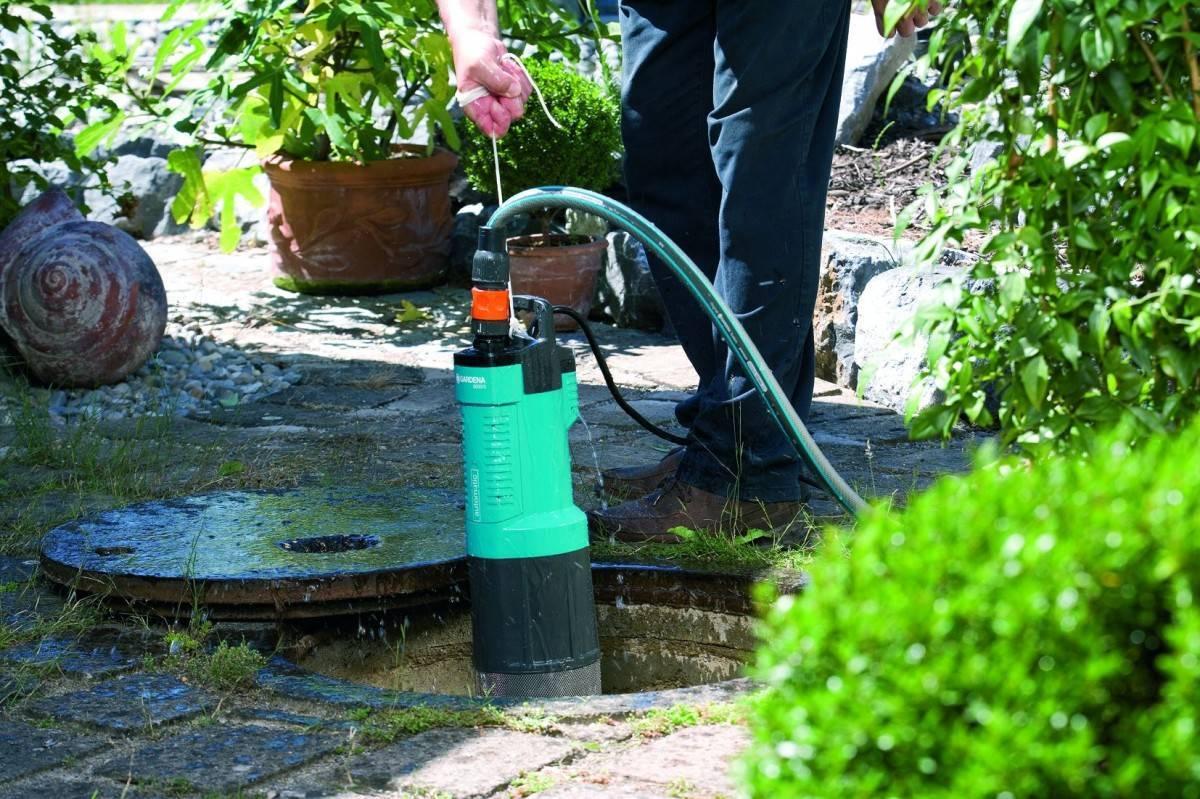 Дренажный насос для колодца: установка, чистка