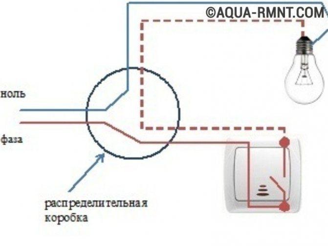 Схема подключения выключателя и розетки подробное руководство