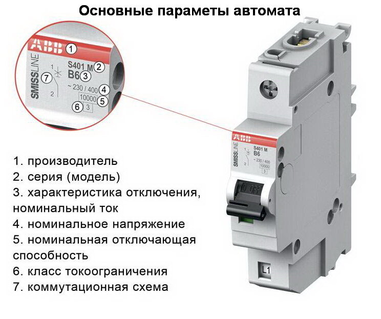 Как выбрать автоматические выключатели