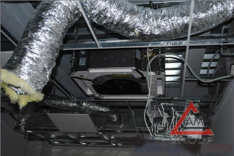 Как установить кассетный кондиционер