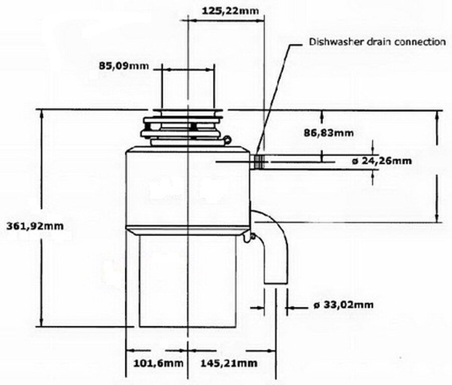 Какие бывают и как установить измельчитель отходов для раковины?