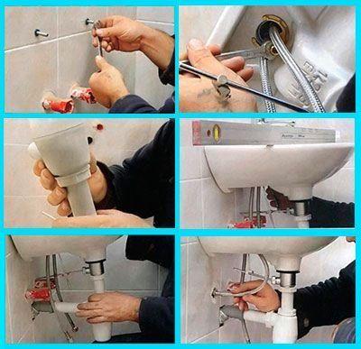 Как правильно крепить раковину к стене: поэтапный подробный разбор монтажных работ
