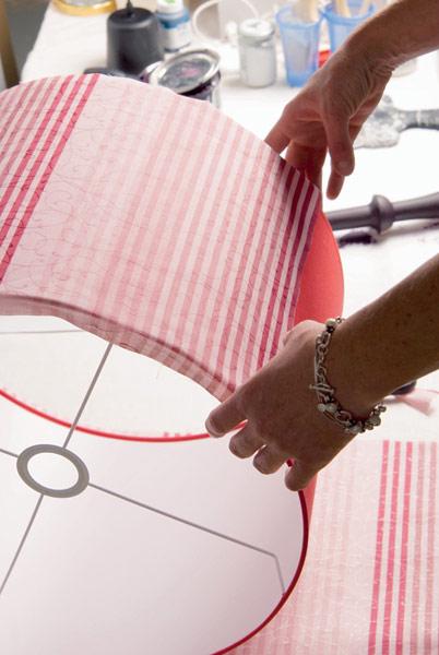 Абажур для торшера своими руками: как сделать из ткани, фото