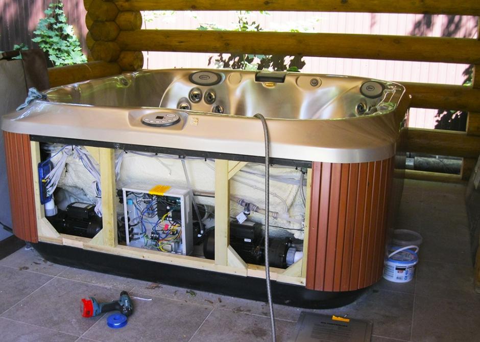 Ванна джакузи: ремонт и установка гидромассажной ванны