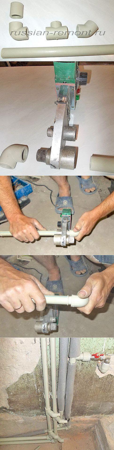 Пайка полипропиленовых труб своими руками: правила и особенности, формула расчета диаметров