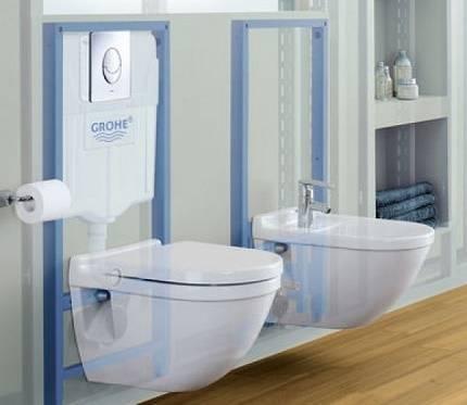 Ремонт инсталляции унитаза: grohe, geberit, cersanit - непрерывно течет вода
