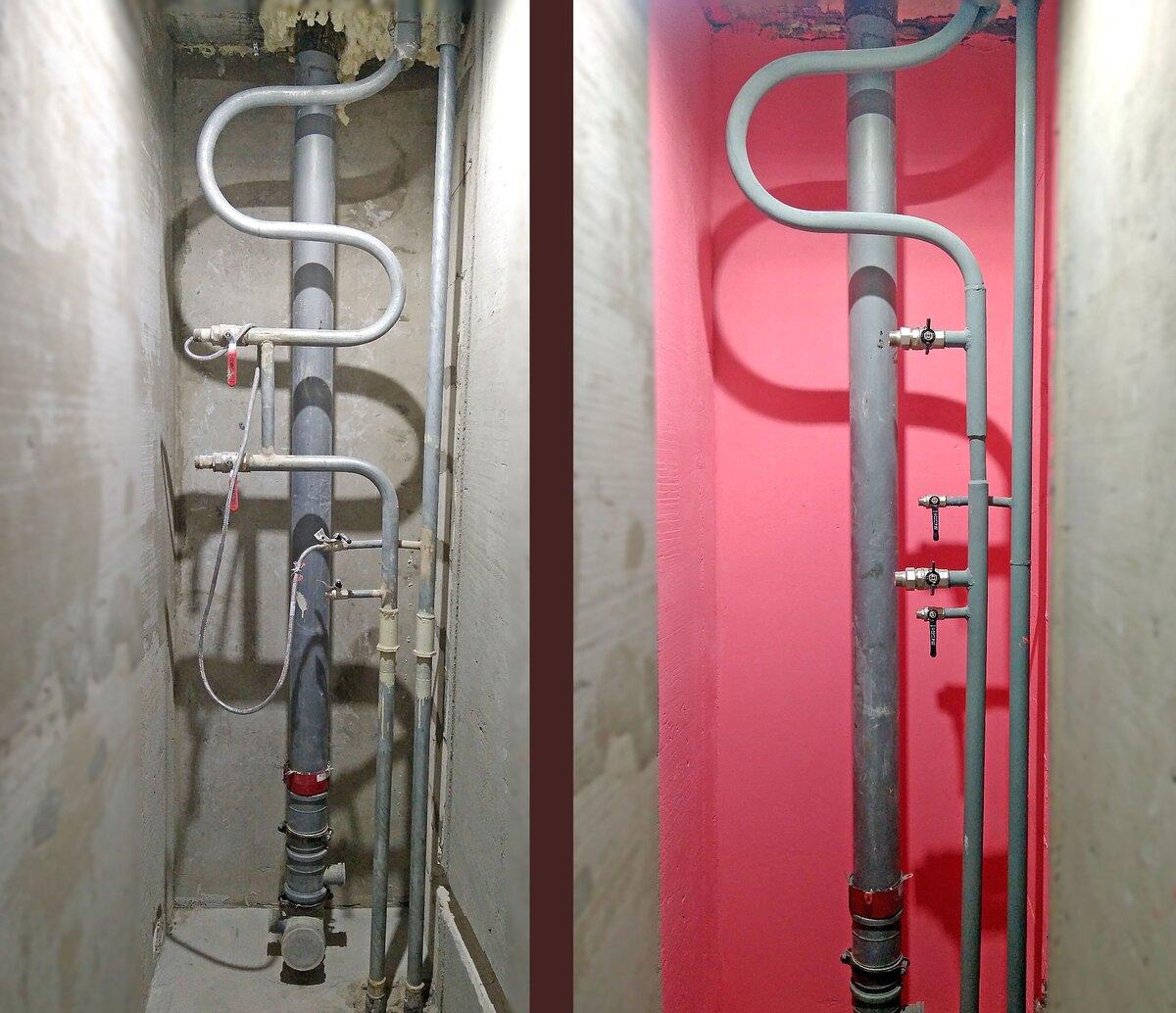 Перенос стояков водоснабжения в квартире — делаем по правилам