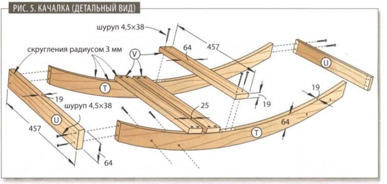 Кресло-качалка своими руками: мастер-класс включает изучение фото, выбор чертежа с размерами, подготовку лозы, чтобы сделать самому мебель в домашних условиях