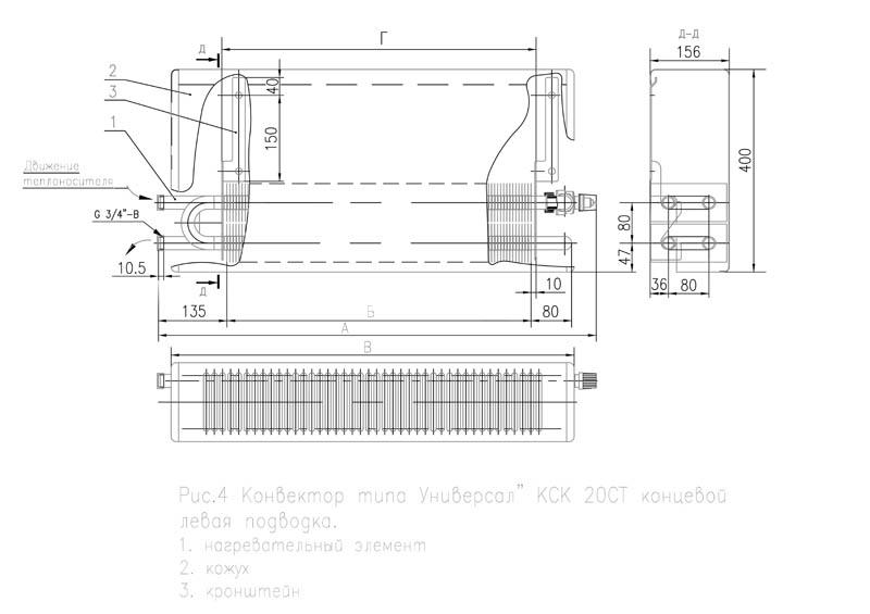 Конвекторные обогреватели кск-20 отечественного производства