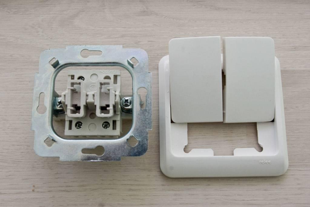 Как разобрать выключатель света для проведения ремонта или замены