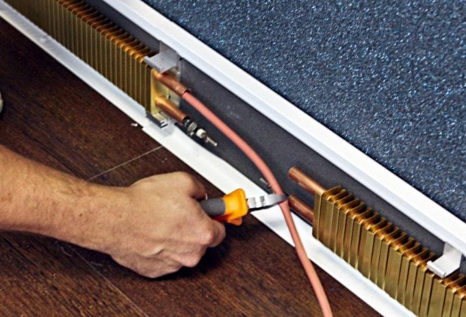 Электрический теплый плинтус – плюсы и минусы
