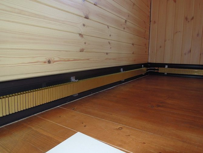 Теплый плинтус электрический: греющий инфракрасный, для отопления дома с обогревом, плинтуса для помещения