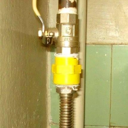 Со 34.23.605-2005 «методические указания по установке и снятию заглушек на действующих газопроводах систем газоснабжения тэс и котельных»