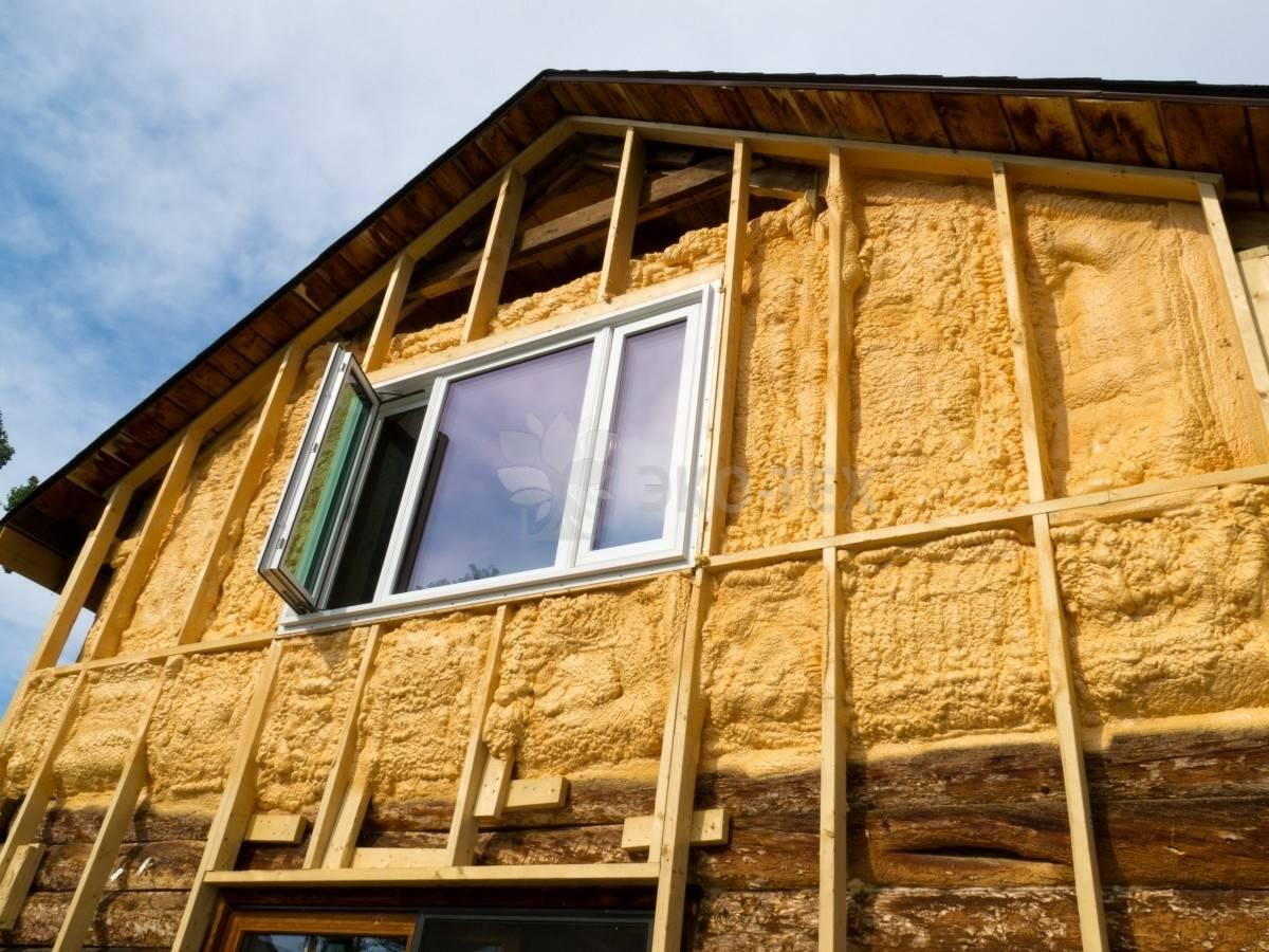 Утеплитель для стен дома снаружи: обзор вариантов + советы по выбору наружного утеплителя