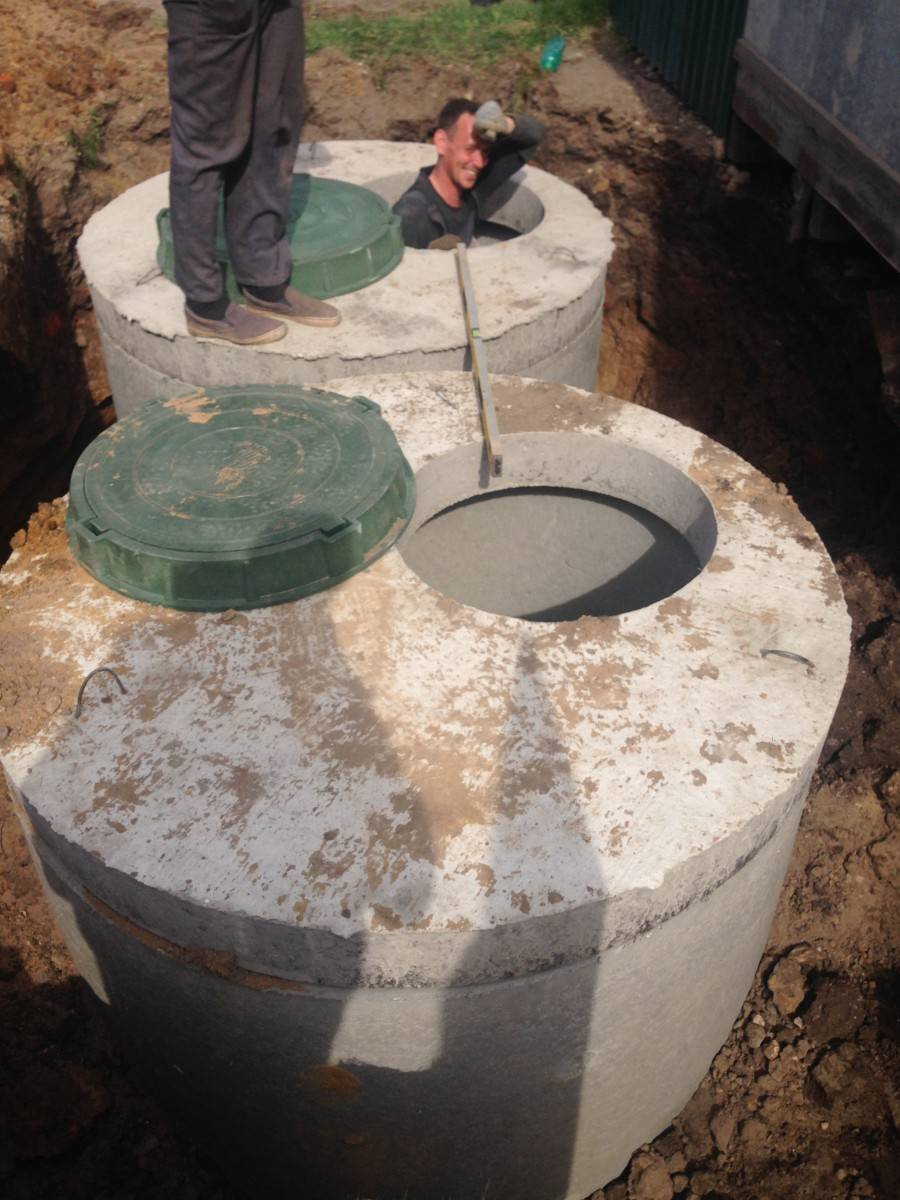 Обустройство своими руками колодца из бетонных колец
