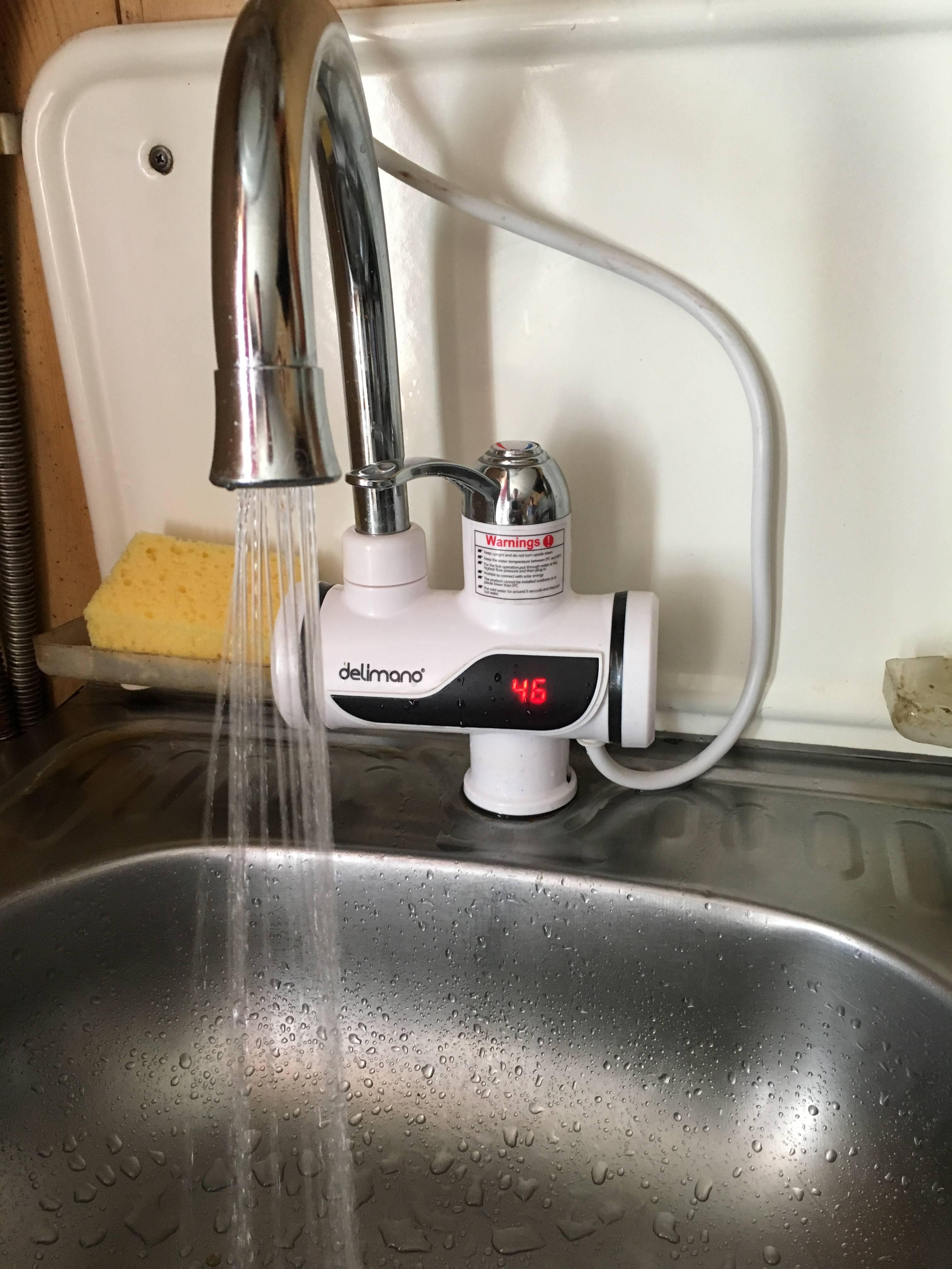 Мгновенный проточный водонагреватель delimano: что это, обзор и отзывы