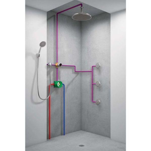 Как подключить душевую кабину к водопроводу – основные