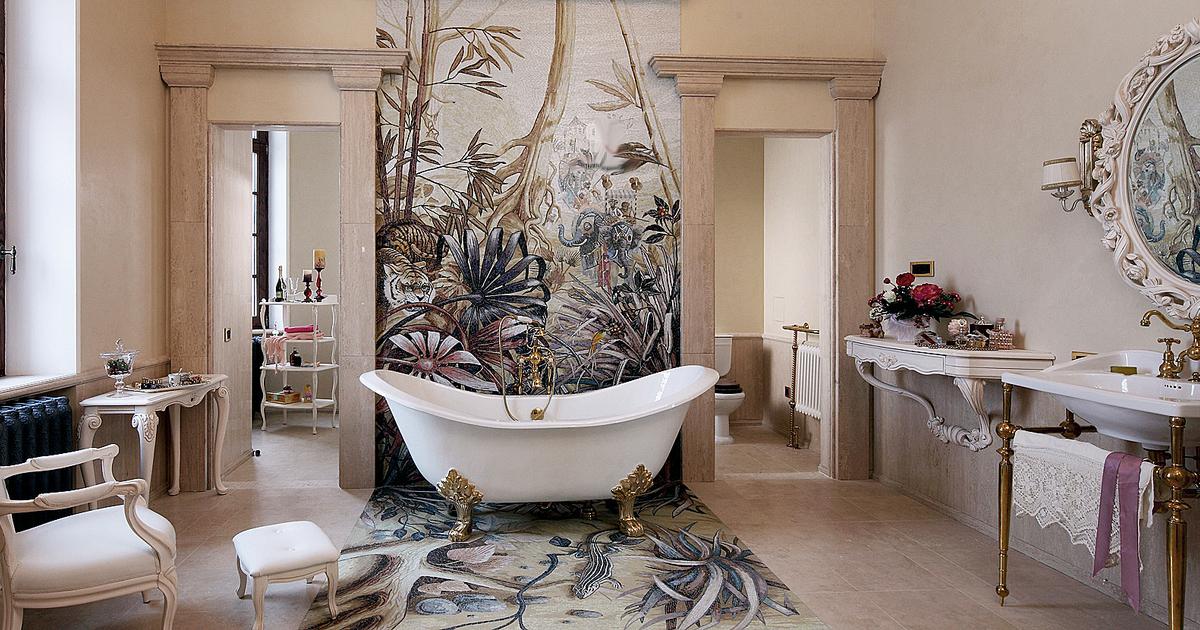 Оформление ванной комнаты: дизайн своими руками, 42 фото идеи