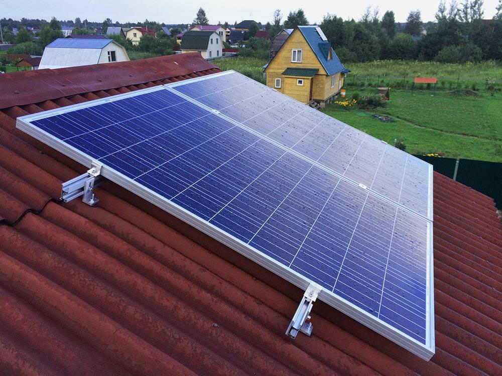 Солнечные батареи для отопления дома - схема установки, период окупаемости и видео обзор
