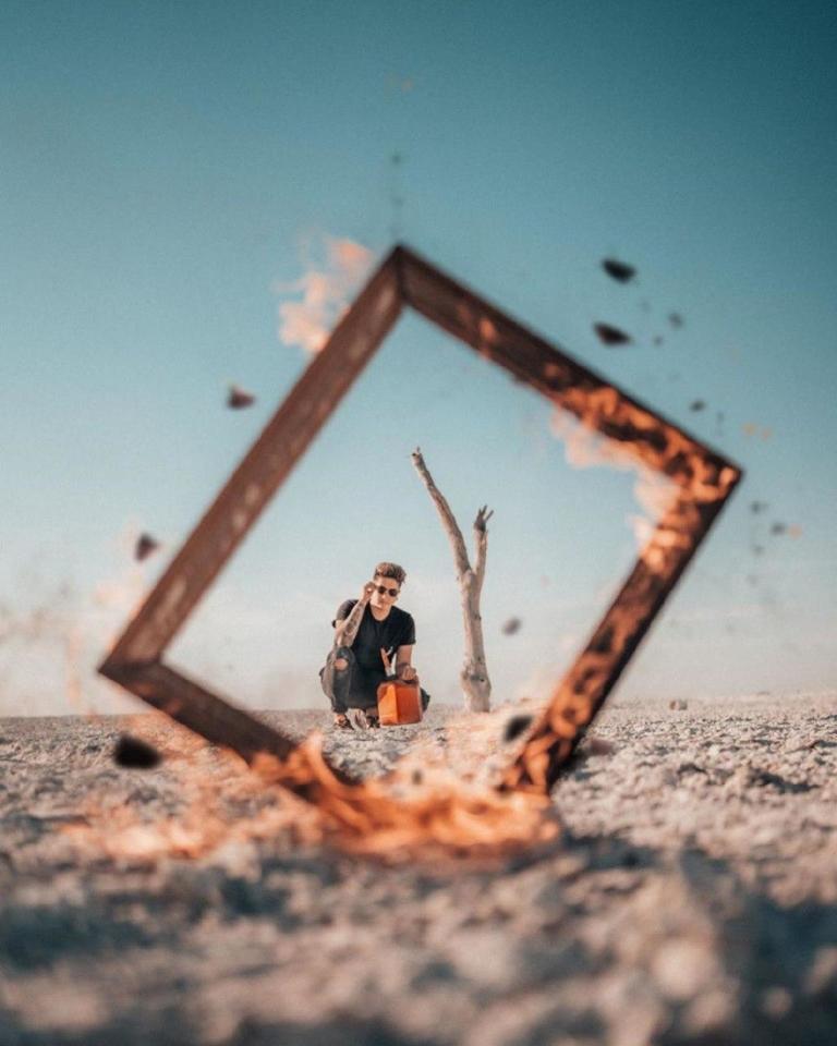 Необычные идеи для фото