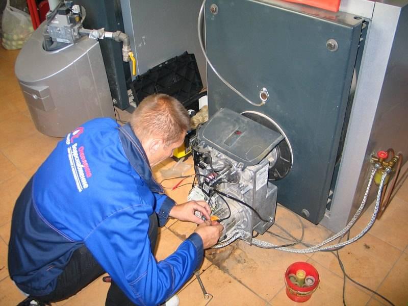 Техническое обслуживание настенных и напольных газовых котлов