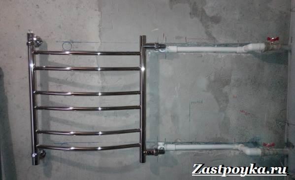 Электрический полотенцесушитель: выбираем с низким энергопотреблением и терморегулятором