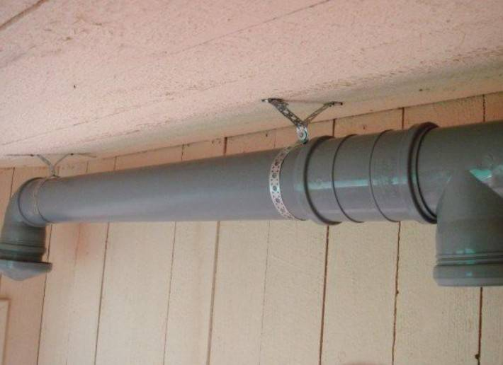 Вентиляция из канализационных труб в частном доме: можно ли использовать, вытяжка