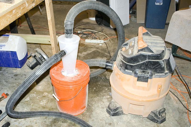 Циклон для пылесоса своими руками: из ведра, канализационных труб и других материалов